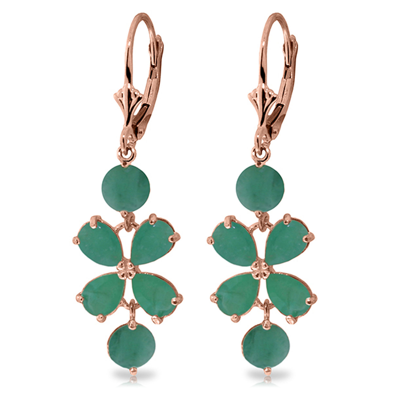 created silver diamonds in amazon natural jewelry com emerald sterling dp ct drop earrings with